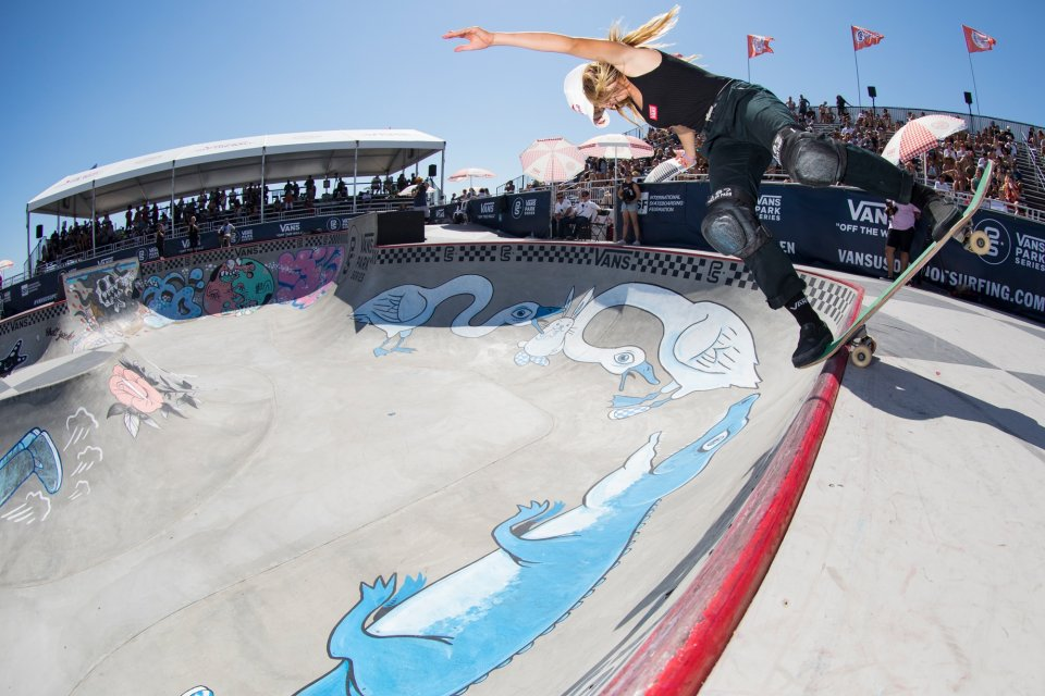 2016 World Champion and 2017 Huntington Beach event winner Brighton Zeuner heads to the 2017 World Championships in Shanghai, China as a strong favourite.   Photo: Anthony Acosta</span>