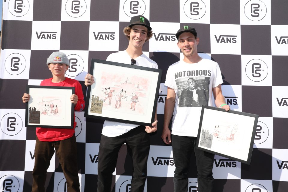 3rd - CJ Collins (USA), 1st - Tom Schaar (USA), 2nd - Ben Hatchell (USA)  Photo: Anthony Acosta</span>