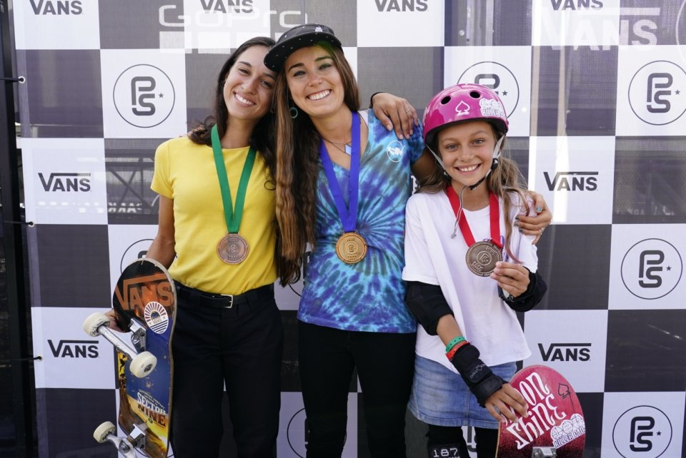 2018 Women&#039;s Continental Championships Winners: 3rd Shani Bru, 1st Amelia Brodka, 2nd Lilly Stoephasius  Photo: Anthony Acosta</span>