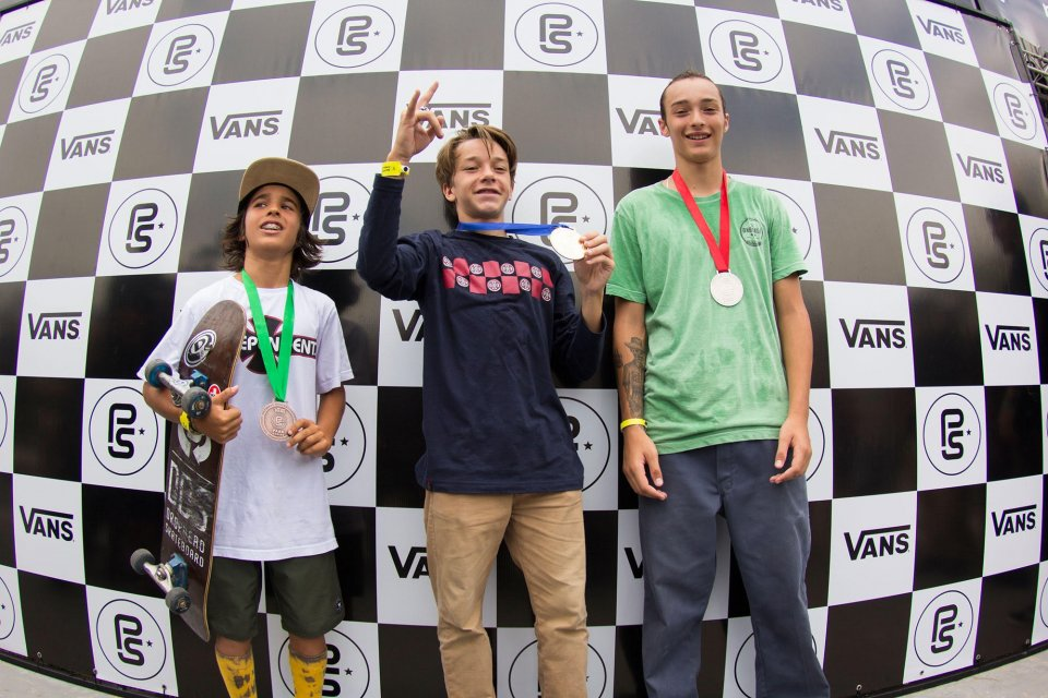 Left to Right: 3rd Pedro Carvalho, 1st Luiz Francisco, 2nd Pedro Quintas.